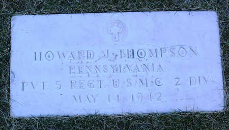 THOMPSON, HOWARD  JOHN - Yavapai County, Arizona | HOWARD  JOHN THOMPSON - Arizona Gravestone Photos