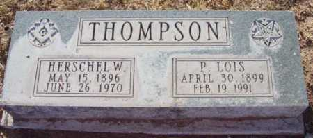 ALLEN THOMPSON, P. LOIS - Yavapai County, Arizona | P. LOIS ALLEN THOMPSON - Arizona Gravestone Photos