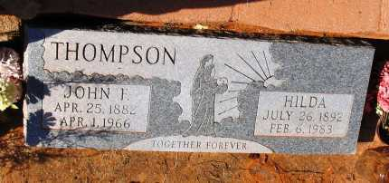 BISHOP THOMPSON, HILDA - Yavapai County, Arizona | HILDA BISHOP THOMPSON - Arizona Gravestone Photos