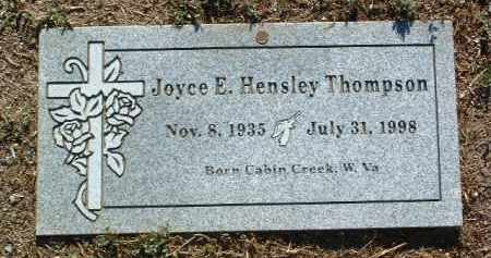 THOMPSON, JOYCE E. VIVIAN - Yavapai County, Arizona | JOYCE E. VIVIAN THOMPSON - Arizona Gravestone Photos