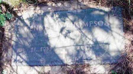 THOMPSON, KENNETH - Yavapai County, Arizona | KENNETH THOMPSON - Arizona Gravestone Photos
