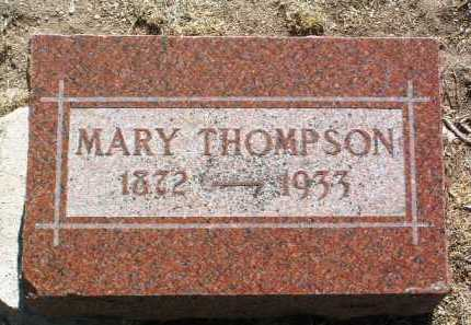 MANN THOMPSON, MARY M. - Yavapai County, Arizona   MARY M. MANN THOMPSON - Arizona Gravestone Photos