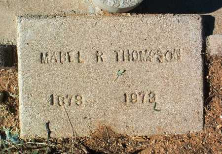 THOMPSON, MABEL R. - Yavapai County, Arizona | MABEL R. THOMPSON - Arizona Gravestone Photos