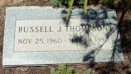 THOMPSON, RUSSELL J. - Yavapai County, Arizona | RUSSELL J. THOMPSON - Arizona Gravestone Photos