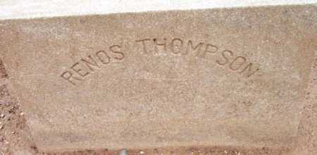 THOMPSON, RENOS / RENUS - Yavapai County, Arizona | RENOS / RENUS THOMPSON - Arizona Gravestone Photos