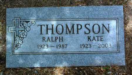 THOMPSON, RALPH HORACE - Yavapai County, Arizona   RALPH HORACE THOMPSON - Arizona Gravestone Photos