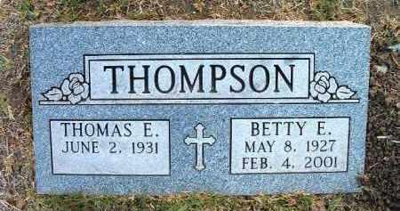BURGESS THOMPSON, BETTY - Yavapai County, Arizona | BETTY BURGESS THOMPSON - Arizona Gravestone Photos