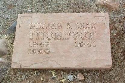 THOMPSON, LEAH JEAN - Yavapai County, Arizona | LEAH JEAN THOMPSON - Arizona Gravestone Photos