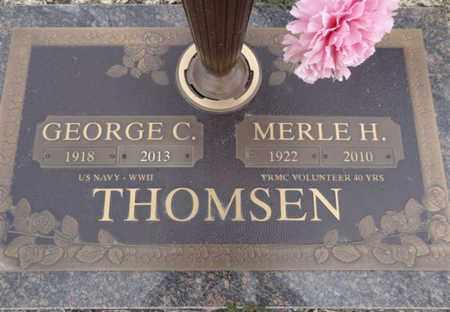 HANDLEY THOMSEN, M. - Yavapai County, Arizona   M. HANDLEY THOMSEN - Arizona Gravestone Photos