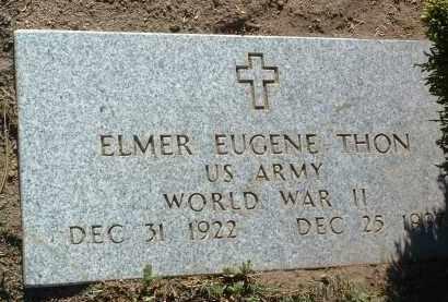 THON, ELMER EUGENE - Yavapai County, Arizona | ELMER EUGENE THON - Arizona Gravestone Photos