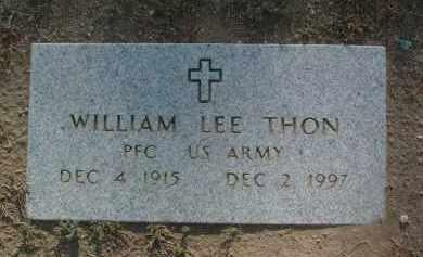 THON, WILLIAM LEE - Yavapai County, Arizona | WILLIAM LEE THON - Arizona Gravestone Photos