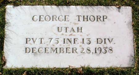 THORP, GEORGE - Yavapai County, Arizona | GEORGE THORP - Arizona Gravestone Photos