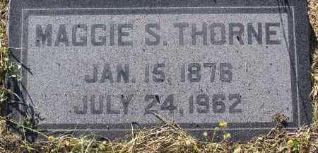 THORNE, MAGGIE S. - Yavapai County, Arizona | MAGGIE S. THORNE - Arizona Gravestone Photos