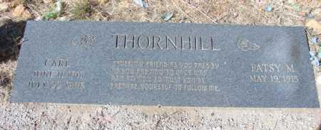 THORNHILL, CHALMON (CARL) - Yavapai County, Arizona | CHALMON (CARL) THORNHILL - Arizona Gravestone Photos
