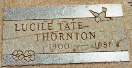 TATE THORNTON, LUCILLE - Yavapai County, Arizona | LUCILLE TATE THORNTON - Arizona Gravestone Photos