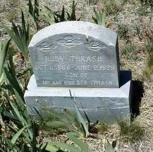 THRASH, RUBIN E. LEE (RUBY) - Yavapai County, Arizona | RUBIN E. LEE (RUBY) THRASH - Arizona Gravestone Photos