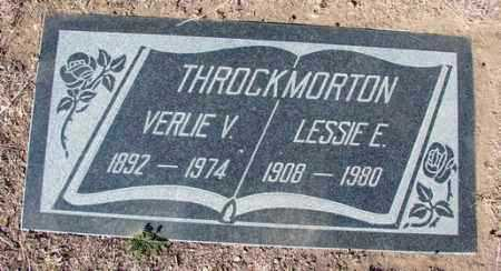 THROCKMORTON, VERLIE VIVA - Yavapai County, Arizona | VERLIE VIVA THROCKMORTON - Arizona Gravestone Photos