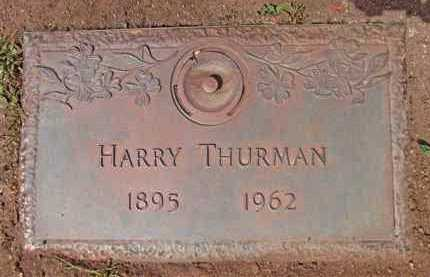 THURMAN, HARRY WINDFIELD - Yavapai County, Arizona   HARRY WINDFIELD THURMAN - Arizona Gravestone Photos