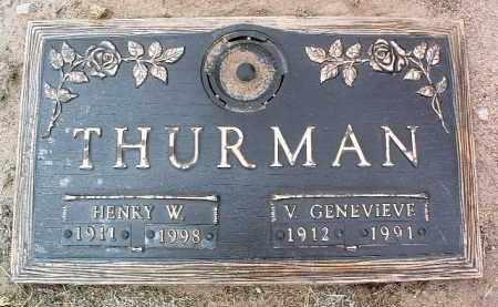 WHITESIDE THURMAN, V. - Yavapai County, Arizona | V. WHITESIDE THURMAN - Arizona Gravestone Photos
