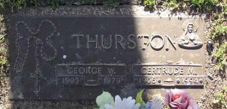 LASCOMB THURSTON, GERTRUDE MAE - Yavapai County, Arizona | GERTRUDE MAE LASCOMB THURSTON - Arizona Gravestone Photos