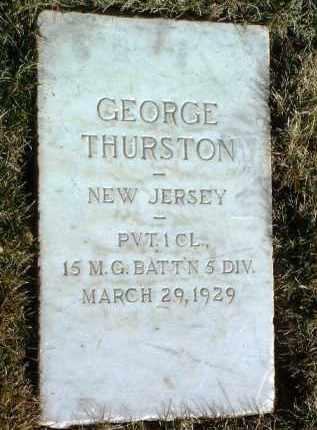 THURSTON, GEORGE - Yavapai County, Arizona | GEORGE THURSTON - Arizona Gravestone Photos