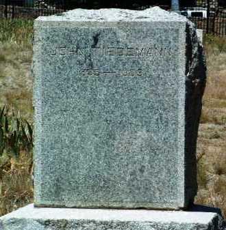 TIEDEMANN, JOHN - Yavapai County, Arizona | JOHN TIEDEMANN - Arizona Gravestone Photos