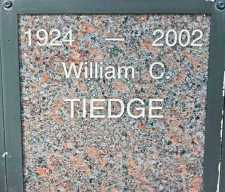 TIEDGE, WILLIAM C. - Yavapai County, Arizona   WILLIAM C. TIEDGE - Arizona Gravestone Photos
