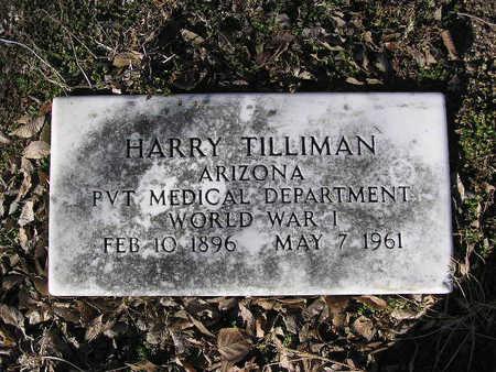 TILLIMAN, HARRY - Yavapai County, Arizona | HARRY TILLIMAN - Arizona Gravestone Photos
