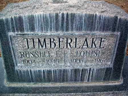 WEBB TIMBERLAKE, LOUISE - Yavapai County, Arizona | LOUISE WEBB TIMBERLAKE - Arizona Gravestone Photos