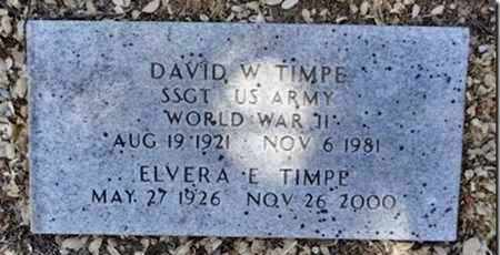 TIMPE, DAVID W. - Yavapai County, Arizona | DAVID W. TIMPE - Arizona Gravestone Photos