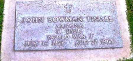 TINALL, JOHN BOWMAN - Yavapai County, Arizona | JOHN BOWMAN TINALL - Arizona Gravestone Photos