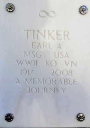 TINKER, EARL ANDERSON - Yavapai County, Arizona | EARL ANDERSON TINKER - Arizona Gravestone Photos