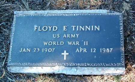 TINNIN, FLOYD EDWIN - Yavapai County, Arizona | FLOYD EDWIN TINNIN - Arizona Gravestone Photos