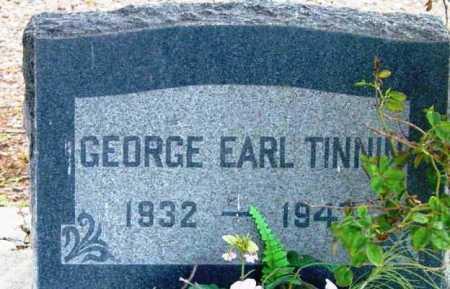 TINNIN, GEORGE EARL - Yavapai County, Arizona | GEORGE EARL TINNIN - Arizona Gravestone Photos