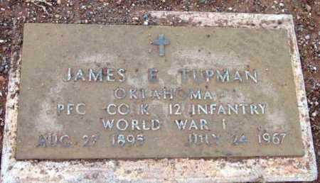 TIPMAN, JAMES E. - Yavapai County, Arizona | JAMES E. TIPMAN - Arizona Gravestone Photos