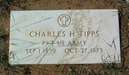 TIPPS, CHARLES H. - Yavapai County, Arizona | CHARLES H. TIPPS - Arizona Gravestone Photos