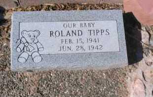 TIPPS, JAMES ROLAND - Yavapai County, Arizona   JAMES ROLAND TIPPS - Arizona Gravestone Photos