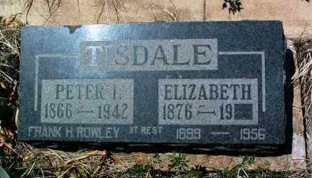 CRAVER TISDALE, MARY E. - Yavapai County, Arizona | MARY E. CRAVER TISDALE - Arizona Gravestone Photos