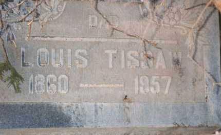 TISSAW, LOUIS E. - Yavapai County, Arizona   LOUIS E. TISSAW - Arizona Gravestone Photos