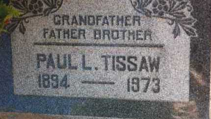 TISSAW, PAUL LOUIS - Yavapai County, Arizona | PAUL LOUIS TISSAW - Arizona Gravestone Photos