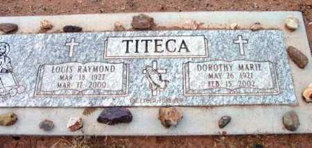 TITECA, LOUIS RAYMOND - Yavapai County, Arizona | LOUIS RAYMOND TITECA - Arizona Gravestone Photos