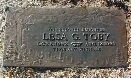 TOBY, LESA GAYE - Yavapai County, Arizona | LESA GAYE TOBY - Arizona Gravestone Photos
