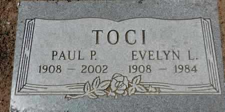TOCI, PAUL PHILLIP - Yavapai County, Arizona | PAUL PHILLIP TOCI - Arizona Gravestone Photos