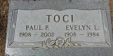 TOCI, ESTHER EVELYN L. - Yavapai County, Arizona | ESTHER EVELYN L. TOCI - Arizona Gravestone Photos