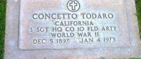 TODARO, CONCETTO - Yavapai County, Arizona   CONCETTO TODARO - Arizona Gravestone Photos