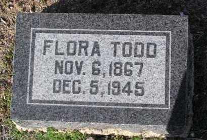 SHOWERS TODD, FLORA BELLE - Yavapai County, Arizona | FLORA BELLE SHOWERS TODD - Arizona Gravestone Photos