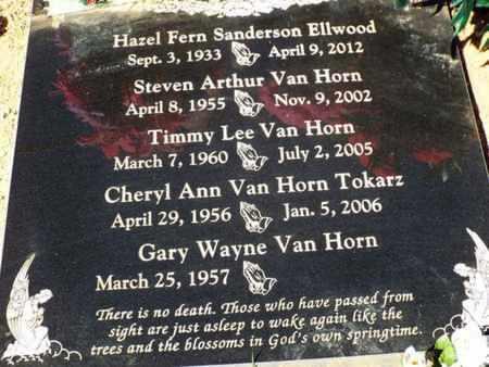 VAN HORN TOKARZ, CHERYL - Yavapai County, Arizona | CHERYL VAN HORN TOKARZ - Arizona Gravestone Photos