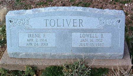 TOLIVER, LOWELL B. - Yavapai County, Arizona   LOWELL B. TOLIVER - Arizona Gravestone Photos
