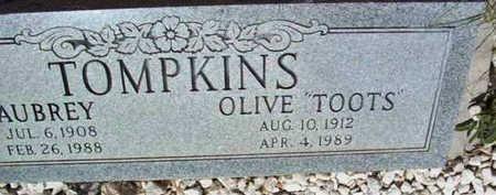 REEVES TOMPKINS, OLIVE - Yavapai County, Arizona | OLIVE REEVES TOMPKINS - Arizona Gravestone Photos