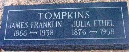 TOMPKINS, JULIA ETHEL - Yavapai County, Arizona | JULIA ETHEL TOMPKINS - Arizona Gravestone Photos